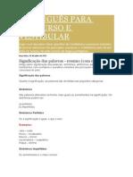 Português Para Concurso e Vestibular