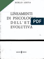 Lineamenti di Psicologia dell'Età Evolutiva [1976] - Marcello Lostia