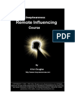 DeepAwareness Remote Influencing course