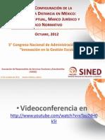 Norma Mexicana Para La Educación a Distancia (SINED)