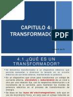 CIRCUITOS Y MAQUINA ELÉCTRICAS - CLASE 7 - TRANSFORMADORES.pdf
