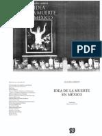 Lomnitz - Idea de La Muerte en Mexico