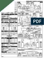 XRAY NT1 - 2013 Specs Blank Setup Sheet