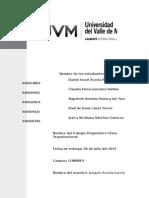 Informe Del Diagnistico Del Clima Organizacional