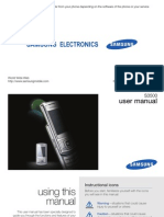 Samsung S3500 User Manual