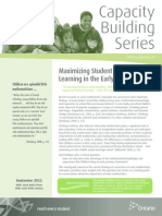 capacity building series early years