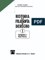 Guido F. Historia de La Filosofia Del Derecho 1
