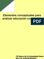 Elementos de Educación Comparada