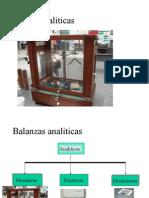 balanza analiticas