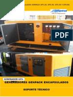 Generadores Encapsulado Genpack Gfs-20 Gfs-30 Gfs-50 Gfs-80