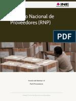 Guia Para el Registro Nacional de Proveedores