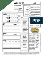 Dasspielunker Character Sheet