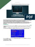 Aprende Formatear Pc Instalando Windows Xp y Buscar Drivers