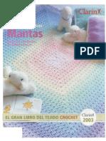 - Revista Croche - Mantas - El Gran Libro Del Tejido Crochet 2003