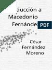 FERNANDEZ MORENO CESAR - Introduccion a Macedonio Fernandez