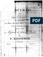 Concerto for 2 Clarinets Op.91 Krommer duo