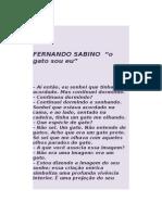 Fernando Sabino _ o Gato Sou Eu