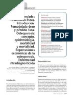 09.001 Enfermedades Metabólicas Óseas