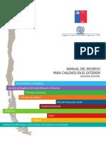 Manual Del Regreso Para Chilenos en el Exterior