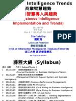 1012BIT08 Business Intelligence Trends