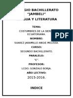 Tradiciones y Costumbres de la Sierra Ecuatoriana