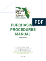 BPS Purchasing Procedures Manual
