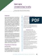 Hemorragia Gastrointestinal Oculta