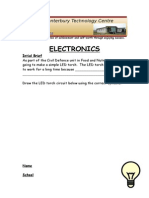 electronics work sheet upgrade