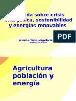 Agricultura Poblacion Energia