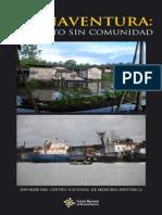 Buenaventura Un Puerto Sin Comunidad