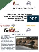Alcantarillas Tmc (Tuberia Metalica Corrugada) Guardavías y Reservorios - Ing Eduardo Rios de Armero