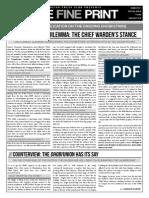 The Fine Print Special Issue - Dhobi Strike