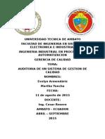 Auditoria Del Sgc