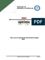 Festival Nacional de Inglés 2015