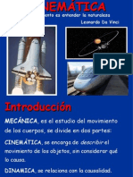 PRESENTACIÓN DE CINEMÁTICA