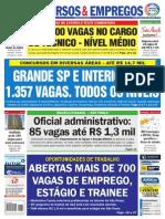 jornal dos concursos 8 a 14 de agosto de 2015