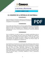 Ley de Armas y Municiones (Guatemala)