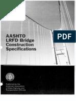 LRFD Bridge Construction Specifications