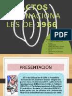 EXPOCION N°2 PACTO INTERNACIONAL