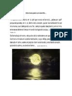 Una luna para un escrito