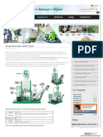 Small Biomass Pellet Plan
