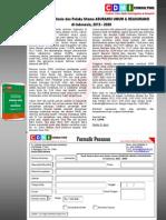 Studi Potensi Bisnis dan Pelaku Utama ASURANSI UMUM & REASURANSI di Indonesia, 2015 - 2020AsuransiUmum&Reasuransi2015