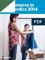 e Commerce in the Nordics 2014
