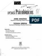 Anastasi y Urbina 1998 Cap 1