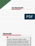 ecuacion Hammett