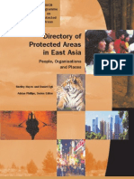 Directory of Protected Areas in East Asia (IUCN 2002)