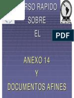 06 Rodaje y Plataforma Curso Rapido Sobre El Anexo 14 y Documentos Afines Capitulo 3 Caracteristicas Fisicas