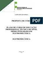 tecnico integrado_Eletromecânica
