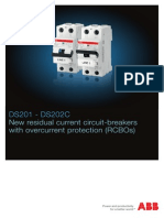 RCBO (DS201 - DS202C) 2CSC422004B0203