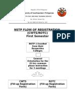 Nstp Flow of Registration